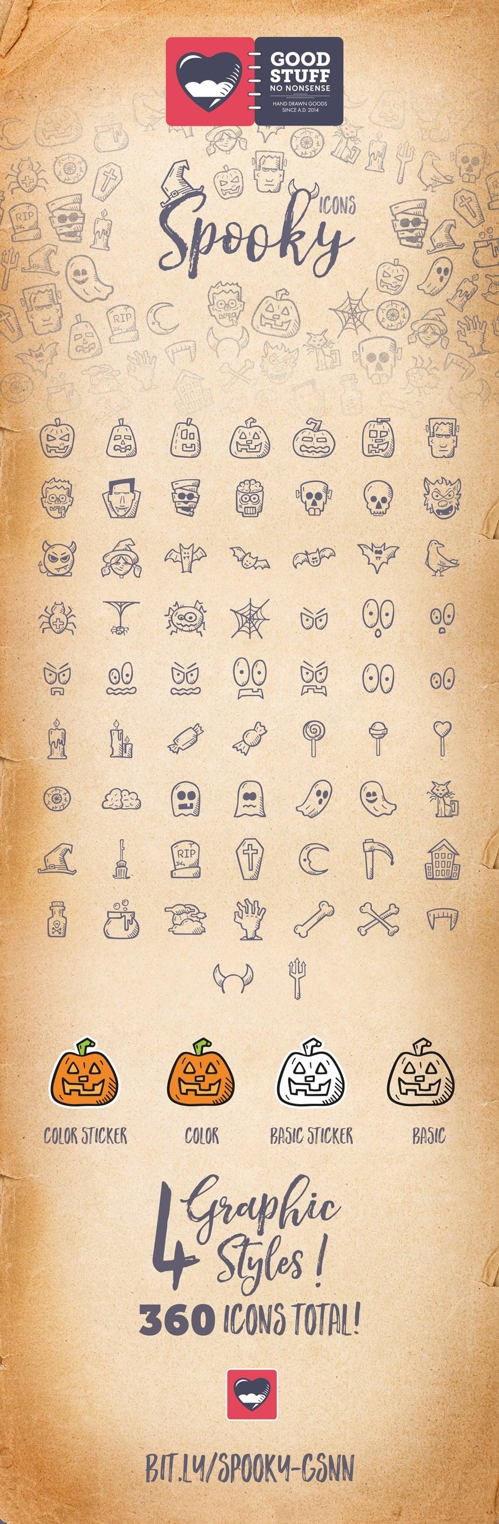 Halloween Spooky Icons