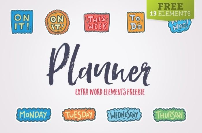Planner Icons – FREEBIE
