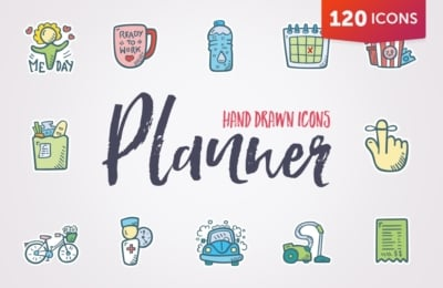 Planner Icons & Stickers