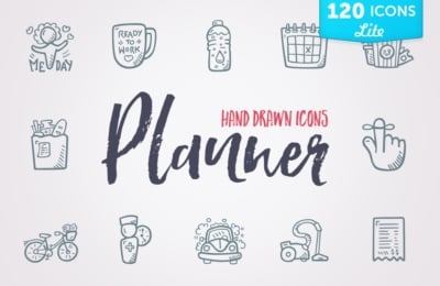 Planner Icons & Stickers LITE